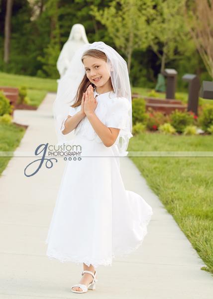Jordan's Communion portrait
