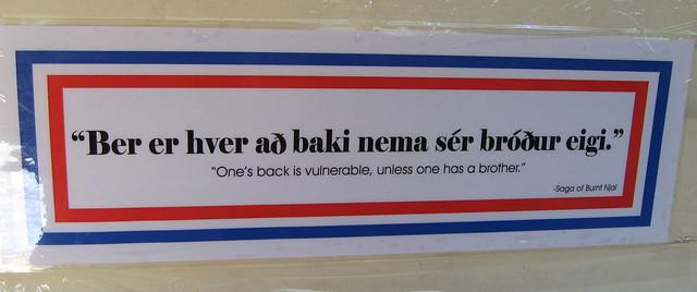 A proverb