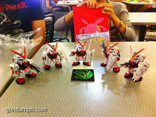 Free SD Astray Red Frame at TK Gundam Detailing Contest Caravan (29)