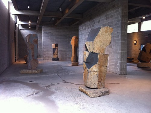 Sculptures at the Noguchi Museum