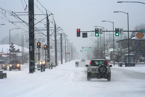 Seattle Snow by amorasin