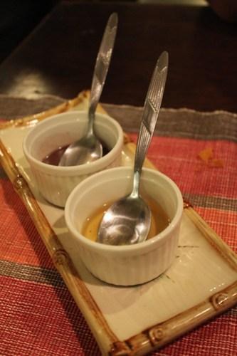 Bagoong and Chilli Oil at Saramsam Cafe