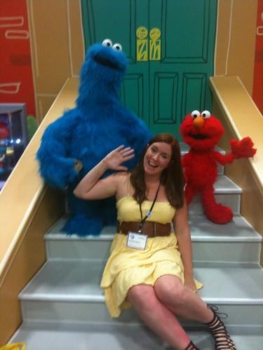 Cookie Monster, Me, Elmo