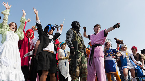 2011 Cherry Blossom Festival, Day 2: Cosplay Craze