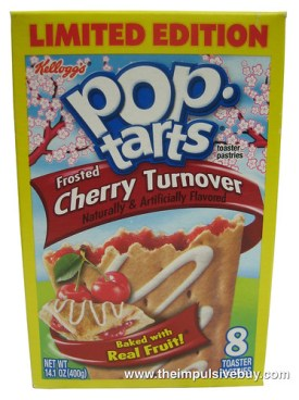 Limited Edition Frosted Cherry Turnover Pop-Tarts