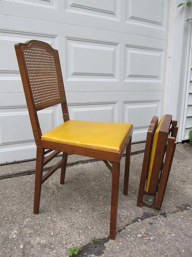 folding chairs!