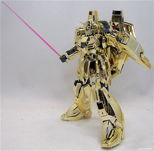 MG Zeta {Gold Coating - Gunpla Award 1st Prize} Year 2003  Very Rare & Limited (1)