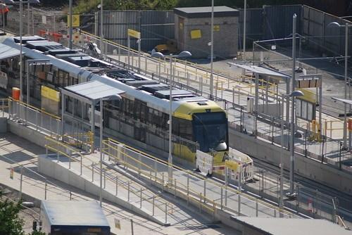 New Islington Tram test