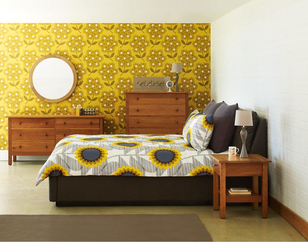 Nest Orla Kiely Bedroom Lifestyle