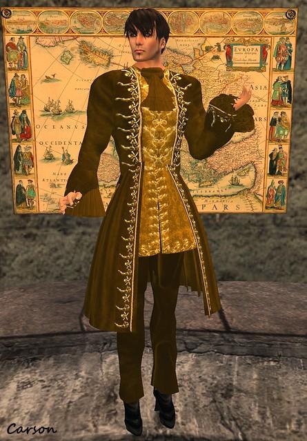 FallnAngel Creations - FallnJames Gold Suit