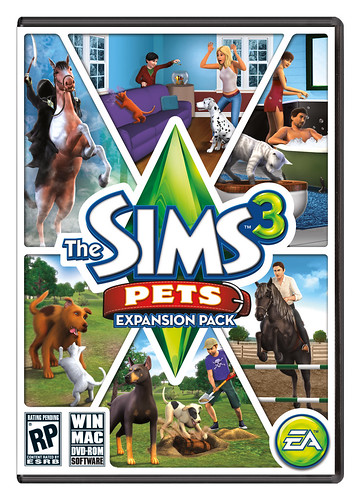 Origin - The Sims 3 Pets Cover Updated