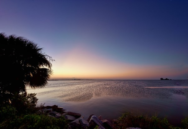 Indian River Lagoon at dawn