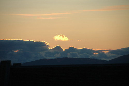 sunlit cloud