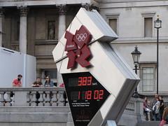 2012 Summer Olympics countdown, Trafalgar Square