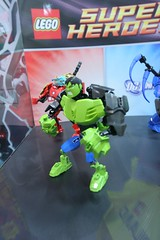 The Hulk Constraction - LEGO Super Heroes - Marvel Comics