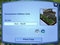 Town - Scrumptious Nibbles Cafe