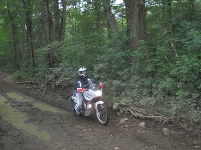 Mud? Wha? You said easy double-track ahead.