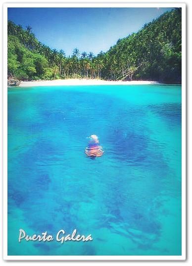 Puerto Galera postcard