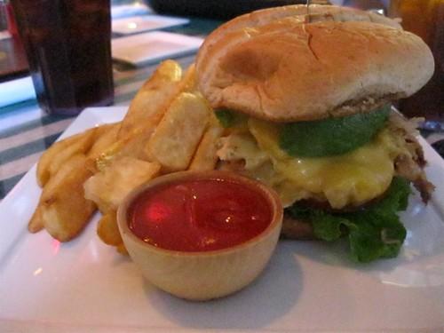 El Sabroso Sandwich with Fries