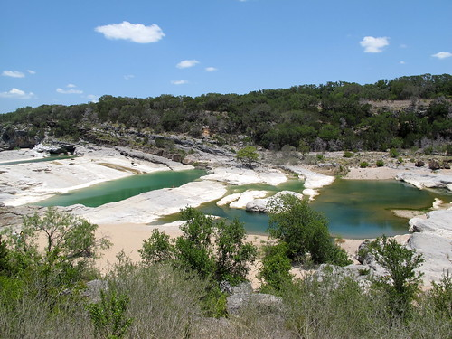 Hiking at Pedernales