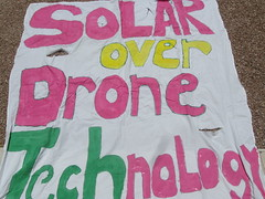 Solar Power not Drone warfare