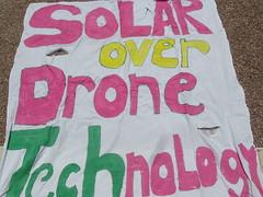 Solar Power not Drone warfare