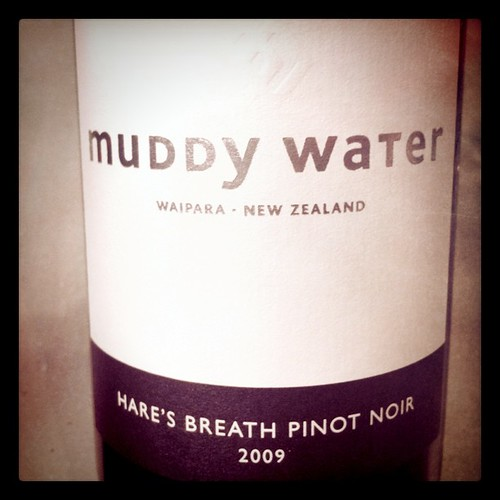 Muddy Water Hare's Breath Pinot Noir 2009