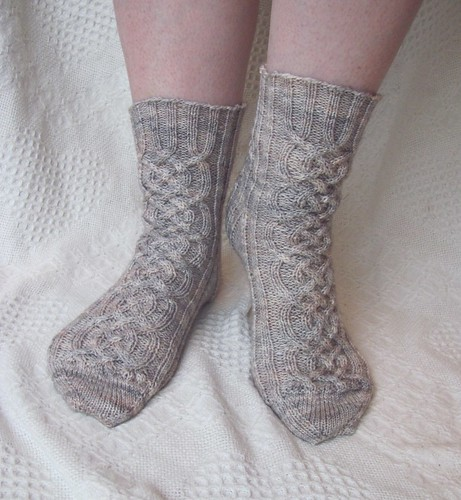 Finished Viking Socks