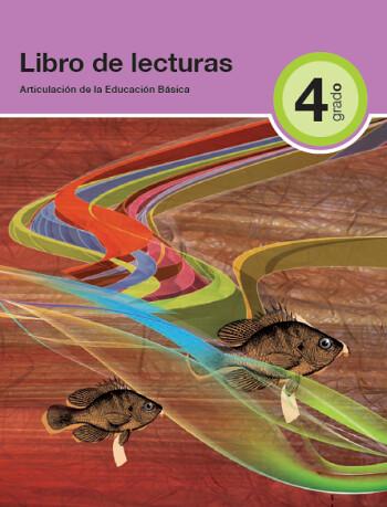 libro de lecturas 4°