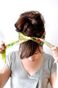 Head Scarf   Head Scarves: Head Scarf Tying Tutorial