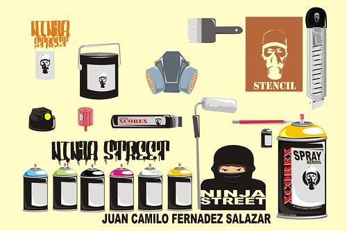 NINJA_inventario  by CAMILO FERNANDEZart