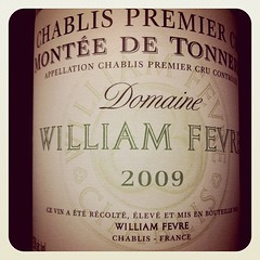 Chablis 1er Cru Montee de Tonnerre 2009, William Fevre