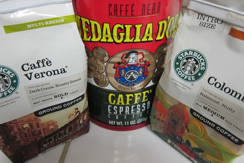 Starbucks and Medaglio d'Oro Coffee
