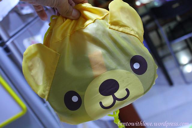 Daiso's bear bag
