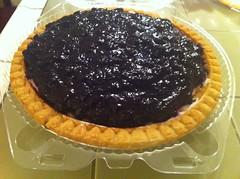 Blueberry Cream Pie - Brieremere Farms - Riverhead, NY