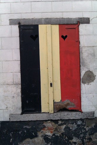noir, jaune, coeur