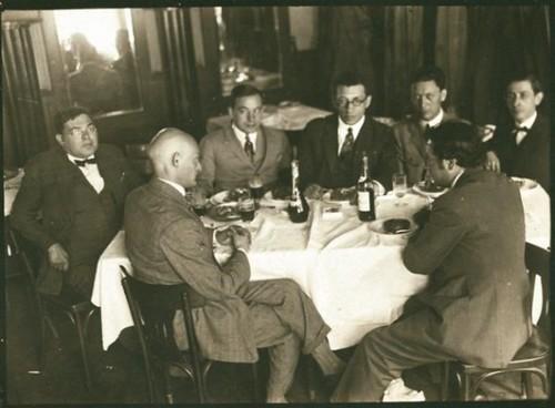 Israel Singer ed altri scrittori yiddish