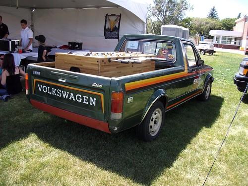 1981 VW Caddy rear