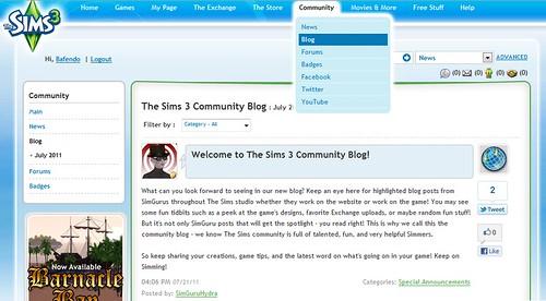 SimGuru Hydra Post the First Community Blog