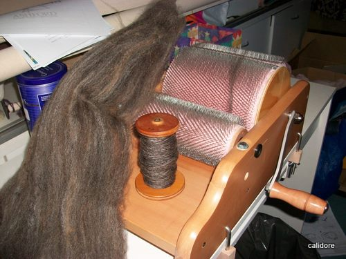 Corridale Wool Spun and Carded