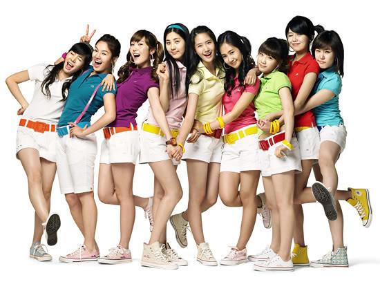 girlband Korea SNSD