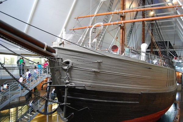 El mítico Fram se exhibe en Oslo