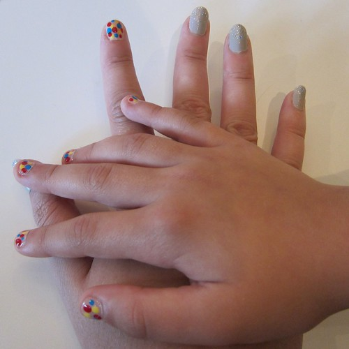 Symmie's & My Primary Polka Dots