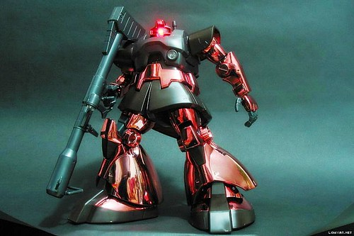 MG Rick Dom {Red Metallic} (2)