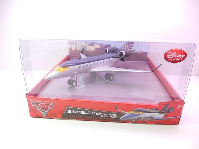 disney store cars 2 siddely the spy jet diecast (1)