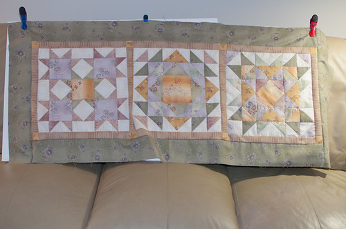 quilted table runner - top