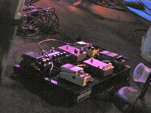 Mary Timony's Pedal Board