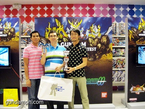 expert category 1st price Toy Kingdom Gundam Modelling Contest Awarding Ceremony July 2011