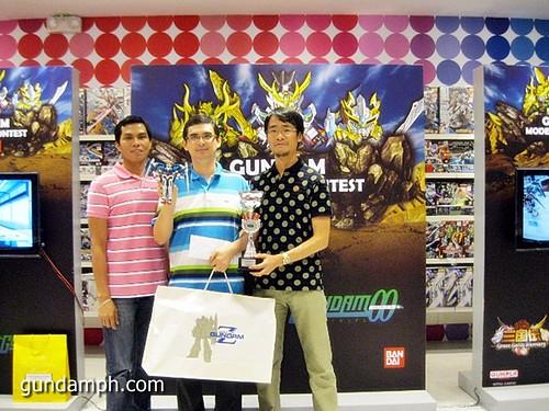 expert category 1st price Toy Kingdom Gundam Modelling Contest Awarding Ceremony July 2011