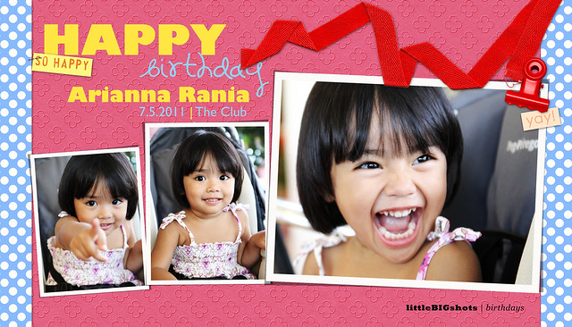 Arianna Rania is TWO!